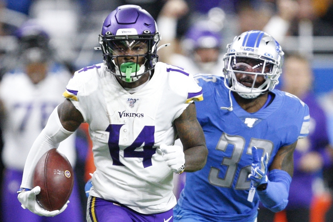 Minnesota Vikings vs. Detroit Lions - 12/8/19 NFL Pick, Odds, and Prediction