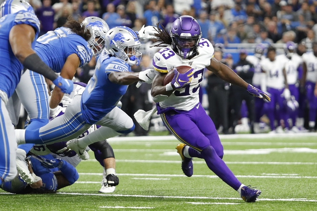 Detroit Lions at Minnesota Vikings - 12/8/19 NFL Pick, Odds, and Prediction