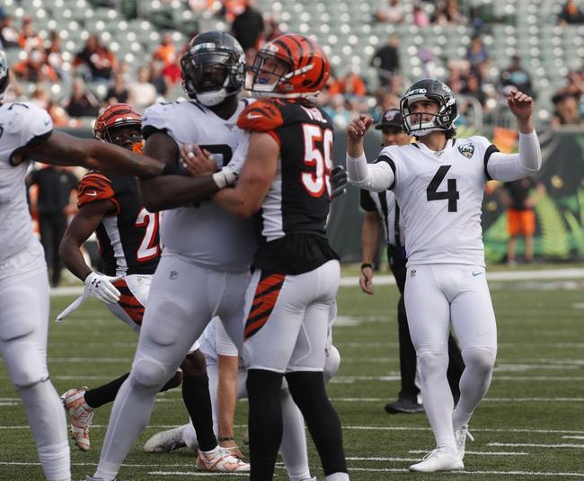 Free Picks: Jacksonville Jaguars at Cincinnati Bengals 10/4/20 NFL Picks and Predictions
