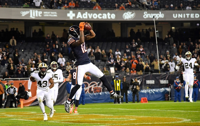 New Orleans Saints at Chicago Bears 11/1/20 NFL Picks and Predictions