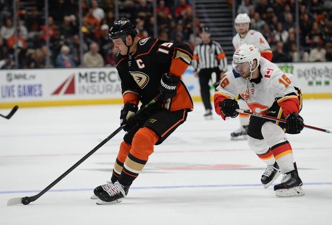 Anaheim Ducks vs. Calgary Flames - 2/13/20 NHL Pick, Odds, and Prediction