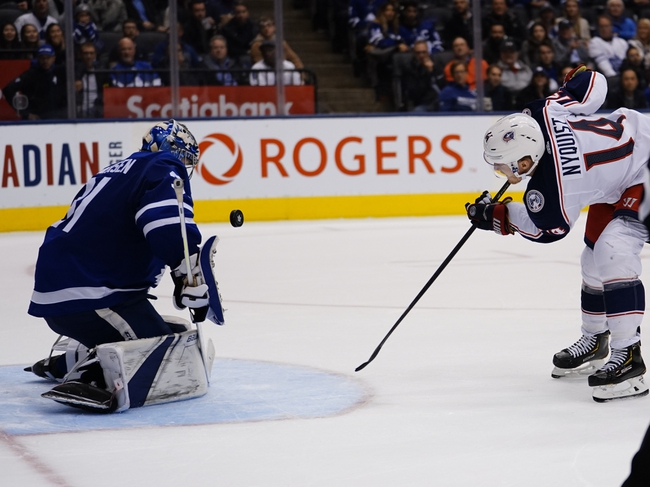 Toronto Maple Leafs vs. Columbus Blue Jackets - 8/2/20 NHL Pick, Odds, and Prediction