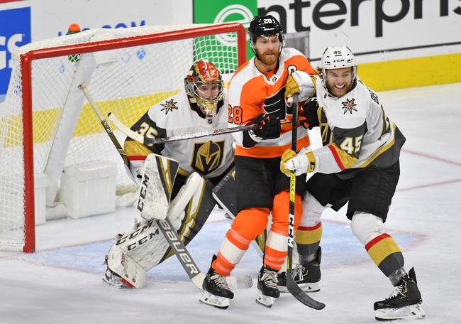Vegas Golden Knights vs. Philadelphia Flyers - 1/2/20 NHL Pick, Odds, and Prediction