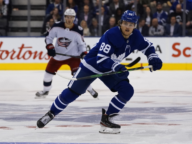 Toronto Maple Leafs vs. Columbus Blue Jackets - 2020 NHL Playoff Series Picks and Predictions