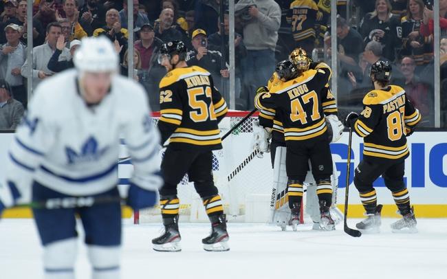 Toronto Maple Leafs vs. Boston Bruins - 11/15/19 NHL Pick, Odds, and Prediction