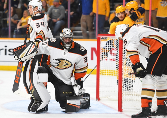 Anaheim Ducks vs. Nashville Predators - 1/5/20 NHL Pick, Odds & Prediction