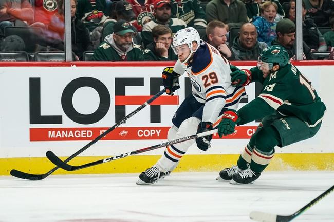 Minnesota Wild vs. Edmonton Oilers - 12/12/19 NHL Pick, Odds, and Prediction