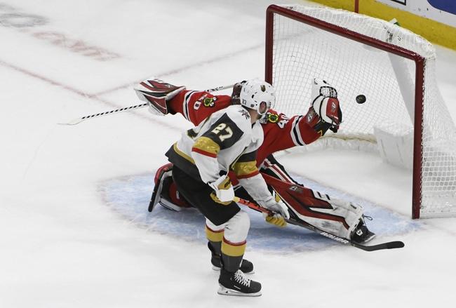 Vegas Golden Knights vs. Chicago Blackhawks - 11/13/19 NHL Pick, Odds, and Prediction
