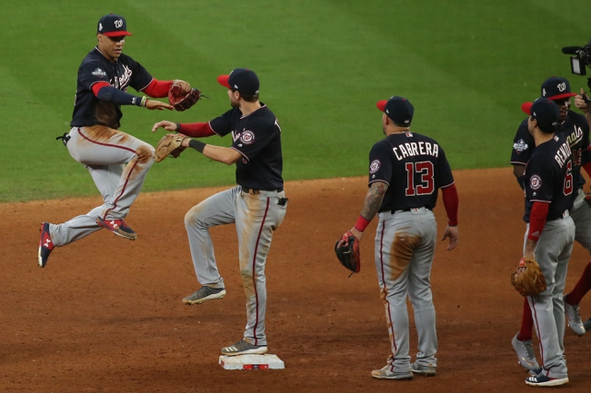Houston Astros vs. Washington Nationals World Series Game 2 - 10/23/19 MLB Pick, Odds, and Prediction