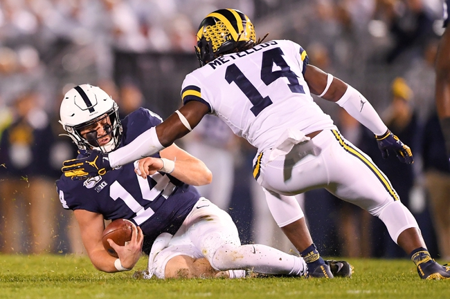 Penn State vs. Michigan - 10/3/20 Early Look College Football GOY Pick, Odds, and Prediction
