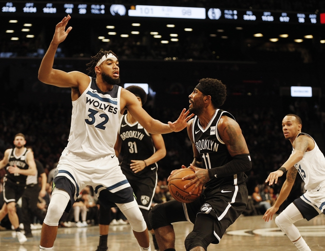 Minnesota Timberwolves vs. Brooklyn Nets - 12/30/19 NBA Pick, Odds & Prediction