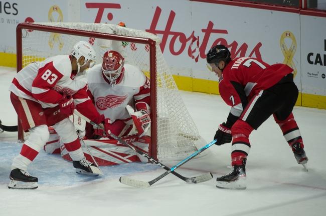 Detroit Red Wings vs. Ottawa Senators - 11/19/19 NHL Pick, Odds, and Prediction