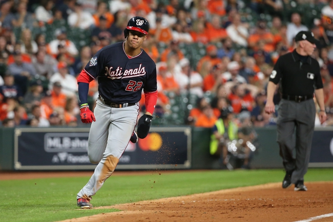Washington Nationals vs. Houston Astros - 10/25/19 MLB - Playoffs Pick, Odds, and Prediction