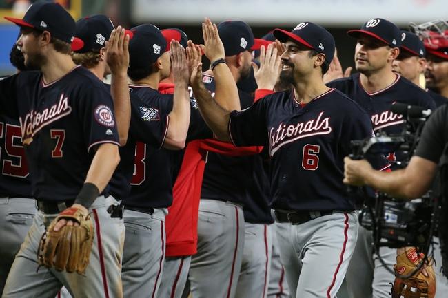 Houston Astros at Washington Nationals - 10/25/19 MLB Pick, Odds, and Prediction