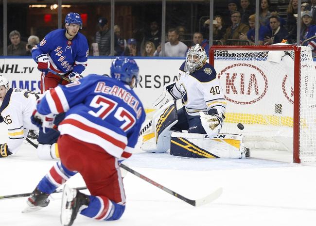 New York Rangers vs. Buffalo Sabres - 2/7/20 NHL Pick, Odds & Prediction