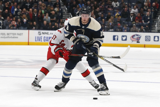 Columbus Blue Jackets vs. Carolina Hurricanes - 1/16/20 NHL Pick, Odds & Prediction