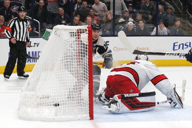 Columbus Blue Jackets vs. Carolina Hurricanes - 1/16/20 NHL Pick, Odds, and Prediction