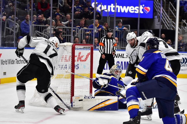 Los Angeles Kings vs. St. Louis Blues - 12/23/19 NHL Pick, Odds, and Prediction