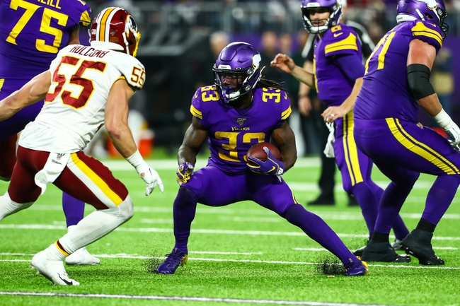 Washington Redskins at Minnesota Vikings - 4/25/20 Madden 20 Sim NFL Pick, Odds, and Prediction
