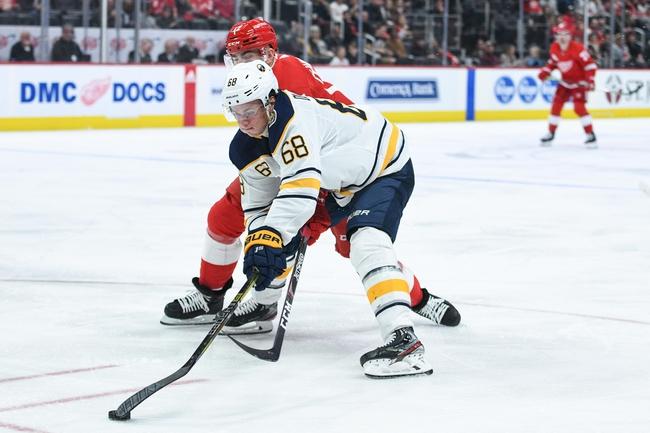 Detroit Red Wings vs. Buffalo Sabres - 1/12/20 NHL Pick, Odds & Prediction