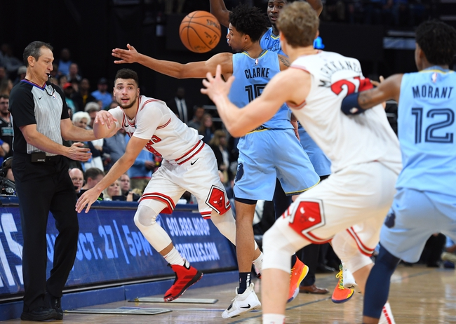 Chicago Bulls vs. Memphis Grizzlies - 12/4/19 NBA Pick, Odds, and Prediction