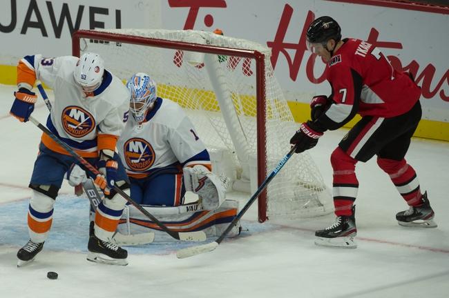 New York Islanders vs. Ottawa Senators - 11/5/19 NHL Pick, Odds, and Prediction