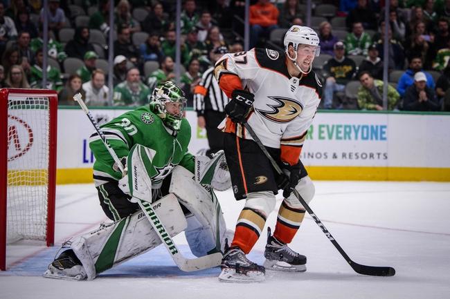 Anaheim Ducks vs. Dallas Stars - 1/9/20 NHL Pick, Odds & Prediction