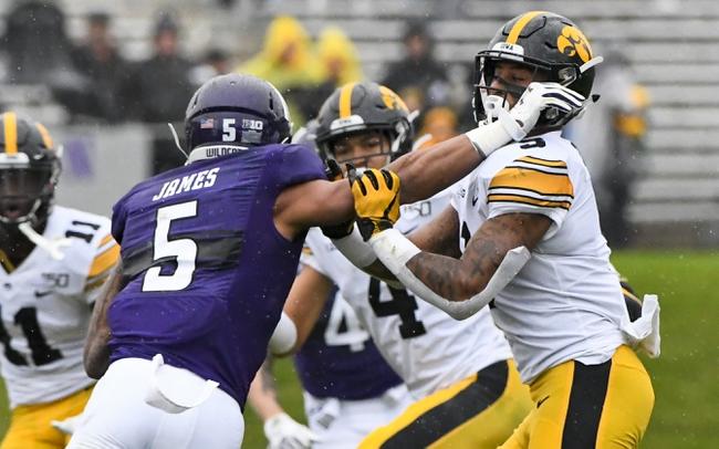 Big Ten: Iowa vs Northwestern 10/31/20 College Football Picks, Odds, Predictions