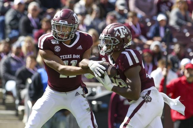 Texas A&M vs. South Carolina - 11/16/19 College Football Pick, Odds, and Prediction