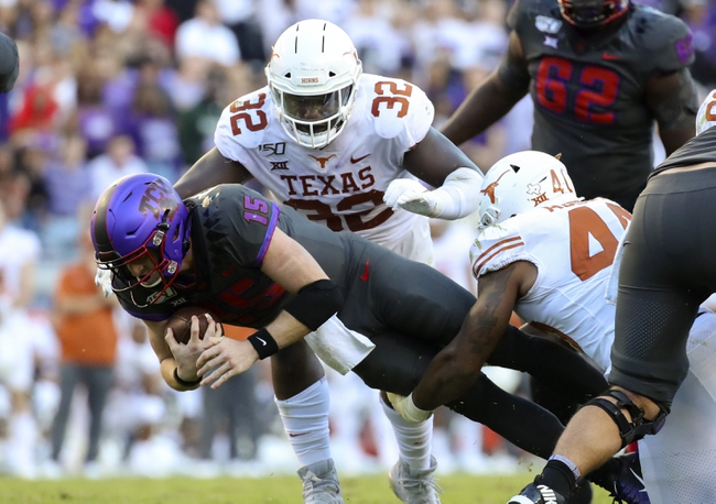 TCU at Texas - 11/14/20 Early look College Football GOY Picks and Predictions