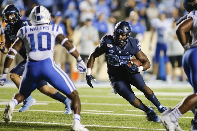ACC Picks: Duke vs North Carolina 11/7/20 College Football Picks, Odds, Predictions
