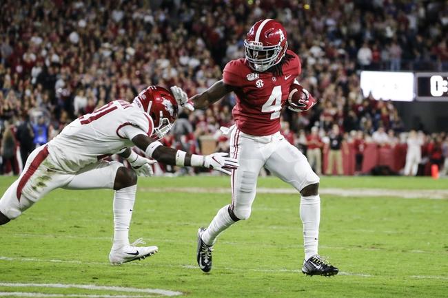 Alabama vs. Western Carolina - 11/23/19 College Football Pick, Odds, and Prediction