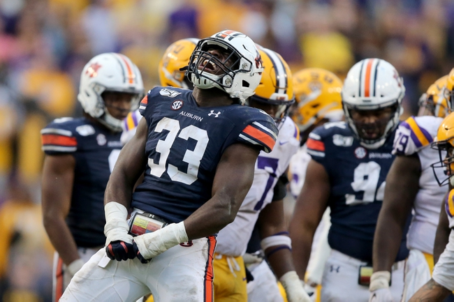 Auburn vs. Mississippi Ole Miss Rebels - 11/2/19 College Football Pick, Odds, and Prediction