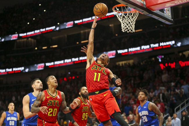 Atlanta Hawks vs. Philadelphia 76ers - 10/28/19 NBA Pick, Odds, and Prediction