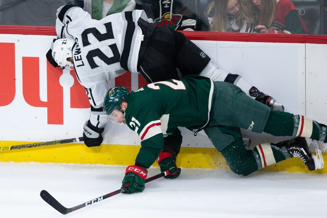 Los Angeles Kings vs. Minnesota Wild - 11/12/19 NHL Pick, Odds, and Prediction