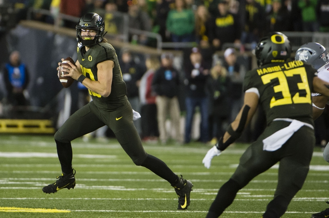 USC vs. Oregon - 11/2/19 College Football Pick, Odds, and Prediction