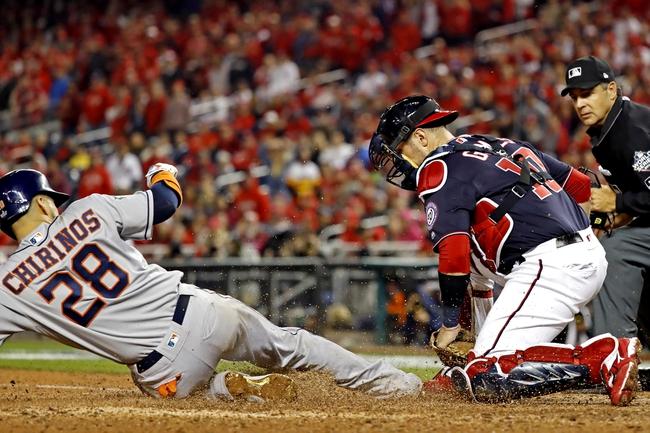 Houston Astros at Washington Nationals - 10/27/19 MLB Pick, Odds, and Prediction