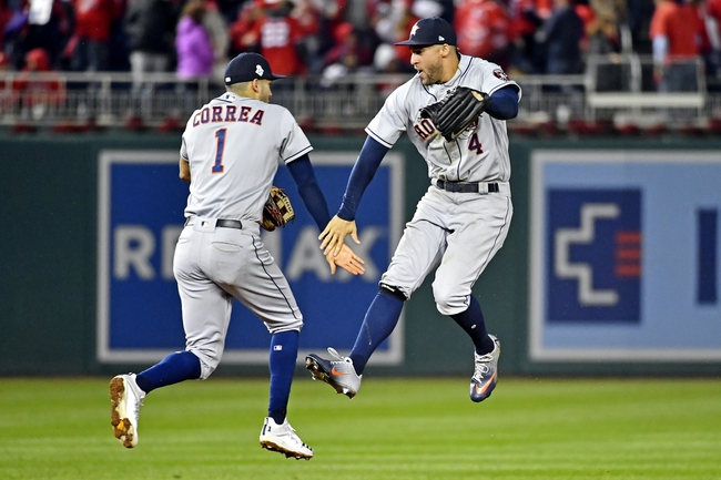 Washington Nationals vs. Houston Astros World Series Game 5 - 10/27/19 MLB Pick, Odds, and Prediction