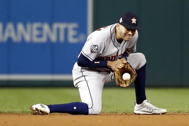 Washington Nationals vs. Houston Astros - 10/27/19 MLB - Playoffs Pick, Odds, and Prediction