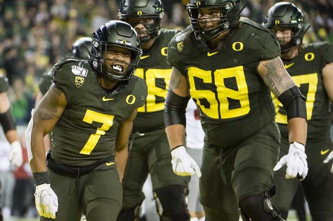 Oregon at Washington State 11/14/20 College Football Picks and Predictions