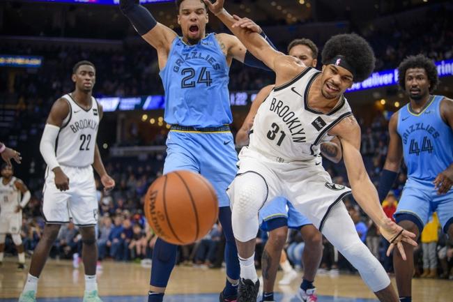 Brooklyn Nets vs. Memphis Grizzlies - 3/4/20 NBA Pick, Odds, and Prediction