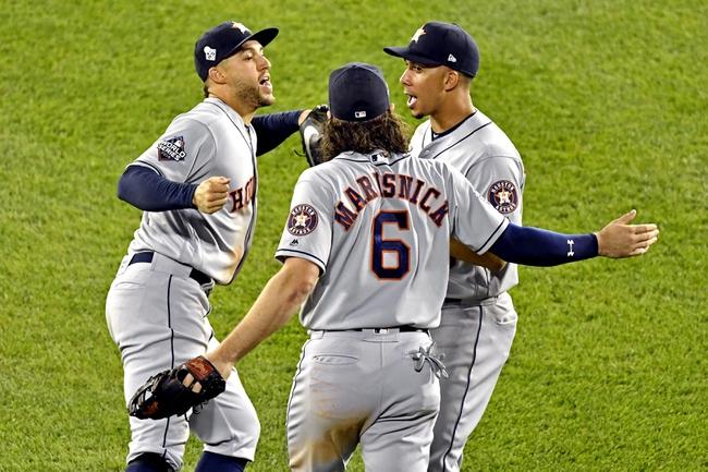 Washington Nationals at Houston Astros - 10/29/19 MLB Pick, Odds, and Prediction