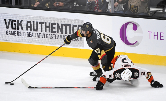 Anaheim Ducks vs. Vegas Golden Knights - 12/27/19 NHL Pick, Odds & Prediction