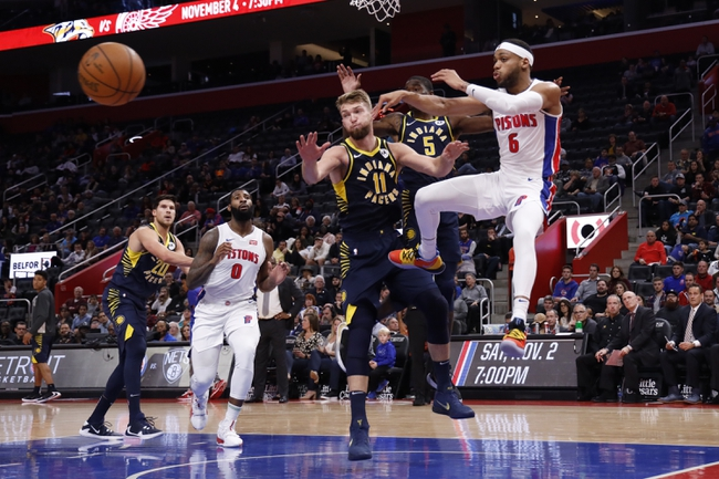 Indiana Pacers vs. Detroit Pistons - 11/8/19 NBA Pick, Odds, and Prediction
