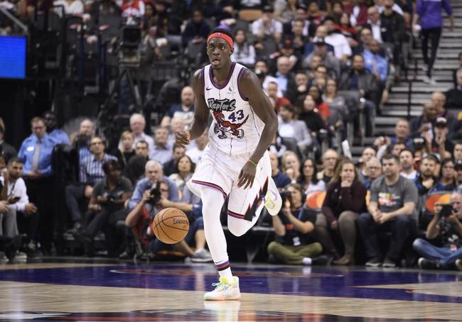 Toronto Raptors vs. Detroit Pistons - 10/30/19 NBA Pick, Odds, and Prediction