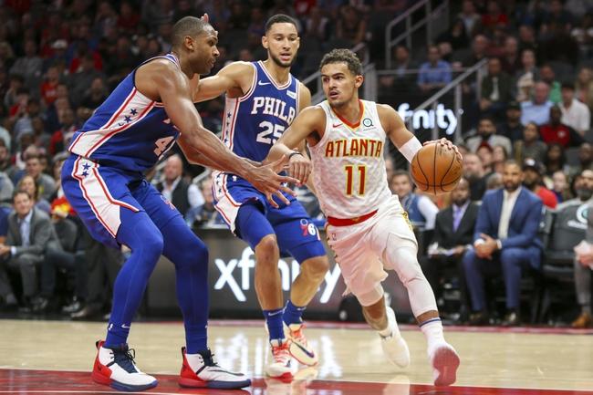 Atlanta Hawks vs. Philadelphia 76ers - 1/30/20 NBA Pick, Odds & Prediction