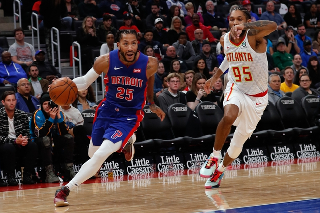 Detroit Pistons vs. Atlanta Hawks - 11/22/19 NBA Pick, Odds, and Prediction