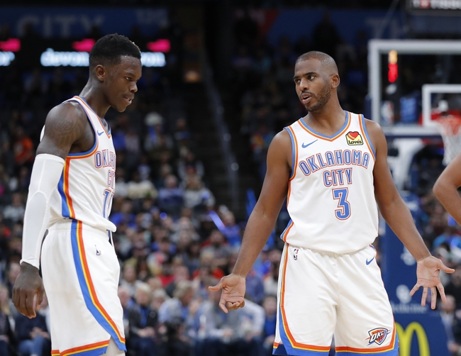 Oklahoma City Thunder vs. New Orleans Pelicans - 11/2/19 NBA Pick, Odds, and Prediction