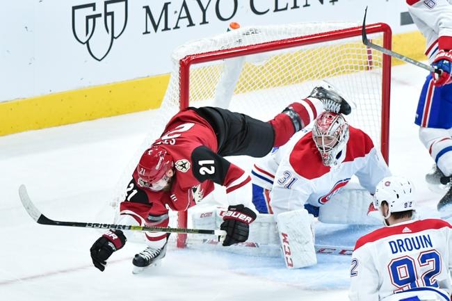 Montreal Canadiens vs. Arizona Coyotes - 2/10/20 NHL Pick, Odds & Prediction