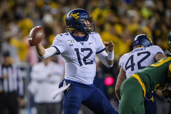 Eastern Kentucky at West Virginia - 9/12/20 College Football Picks and Prediction